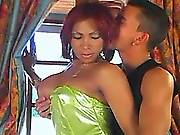 Fantastic tranny oral fun