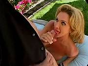 Blonde shemale suck cock