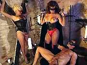 Guy n two tgirls go kinky