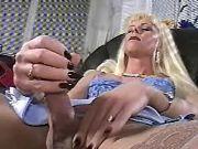 Secretary shemale crazy masturbates