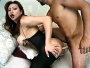 Sex with titty glamour TS