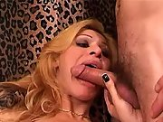 Playful shemale loves to taste rods
