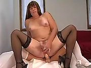 Nice shemale nymph going naughty in tranny porn movies